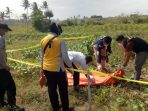 Geger Temuan Jenazah Penuh Luka Bakar di Tengah Ladang di Kebumen